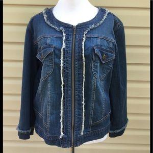 🆕 Style & Co. Jean Jacket !
